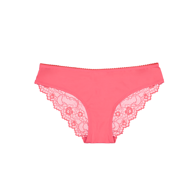 Bikini Brief Lace Coral
