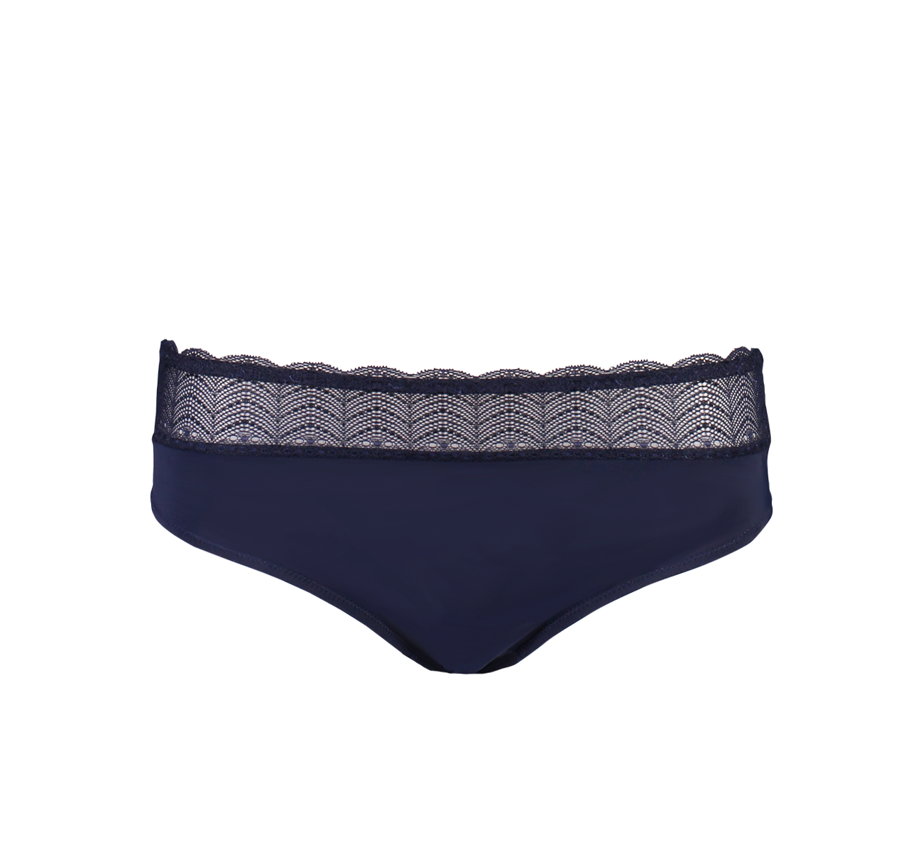 Midi Brief Spot Navy/Coral