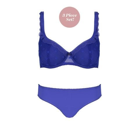 Spot Ocean Blue 3 Piece Set
