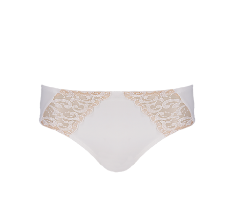Embroidery Knicker White