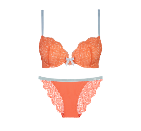 Special Edition Lace Orange Set
