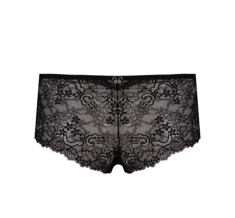 Special Edition Lace Short Black & Blue