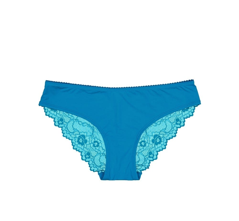 Bikini Brief Lace Jade